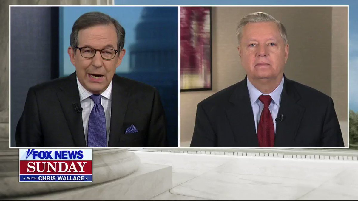 Senate Judiciary Chairman and the Presidents closest confidant, Senator Lindsey Graham (R-SC) joined FOX News Sunday for an exclusive interview. Sen Graham reacts to the Democrats trial brief saying the Presidents conduct is the framers worst nightmare. #FNS #FoxNews