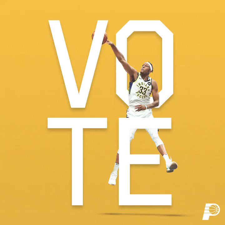 only 1️⃣ day left to #VotePacers for @Original_Turner and the #Pacers for this year's @NBAAllStar Game in Chicago 🗳  ➡️ http://Pacers.com/Vote