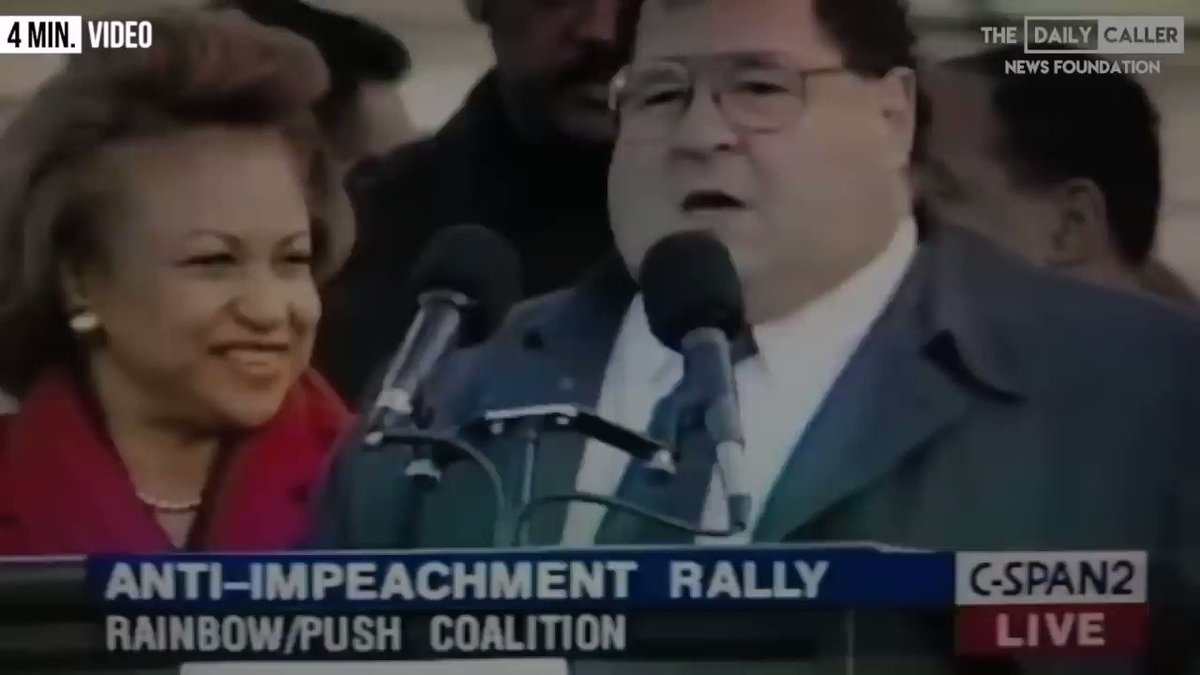 CAUGHT-ON-TAPE: Dems on  @BillClinton's Impeachment! Retweet!  This Impeachment Hoax of  @POTUS is an UNCONSTITUTIONAL UNDOING of a legitimate 2016 election, and an UNLAWFUL HIJACK ATTEMPT of a 2020 REELECTION LANDSLIDE of  @realDonaldTrump!  Dems want POWER FIRST NOT PEOPLE FIRST!