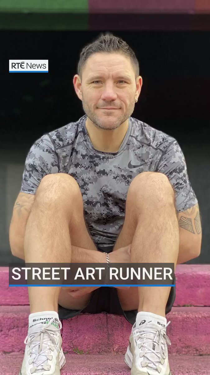 Running in recovery - how one man turned his life around and launched a running tour of Dublin's street art scene. (Tap for best view on mobile).