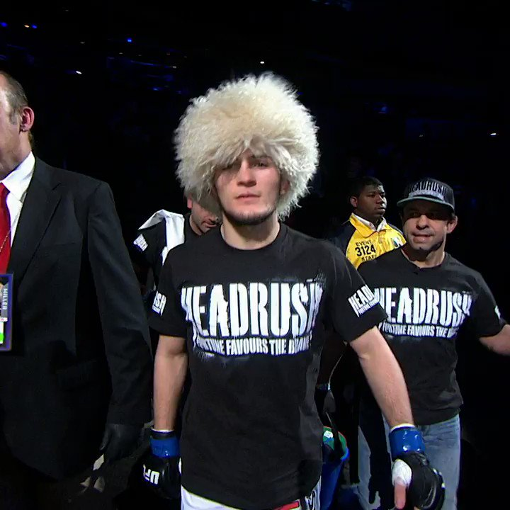 #OnThisDay in 2012...   @TeamKhabib entered the Octagon for the first time 🇷🇺  ➡️ Watch 1000s of more fights on @UFCFightPass!