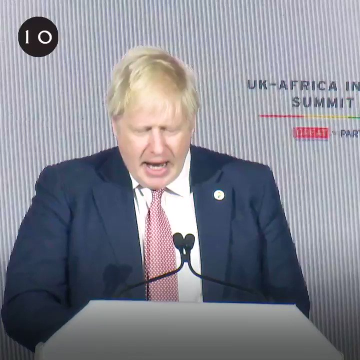 """""""We will be able to attract the best talent from around the world, wherever they may be."""" - PM @BorisJohnson #InvestInAfrica"""