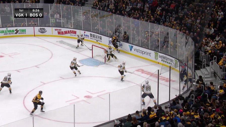 .@jeremylauzon21 made his presence felt. #NHLBruins