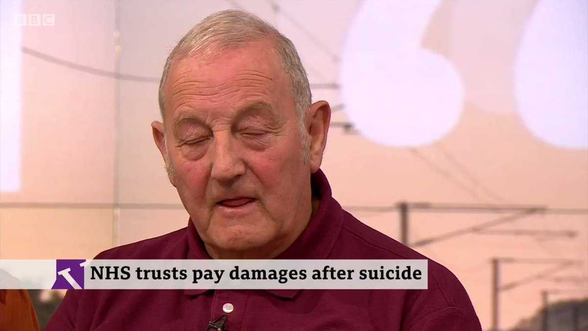 """Knowing he'd tried [to take his own life] in the past, someone should have said 'Don't take your eyes off of him'""Mick Collins's son Tony wheeled past nurses at his hospital, out of the ward, and took his own lifehttp://bbc.in/37jMf6L  #VictoriaLIVE"