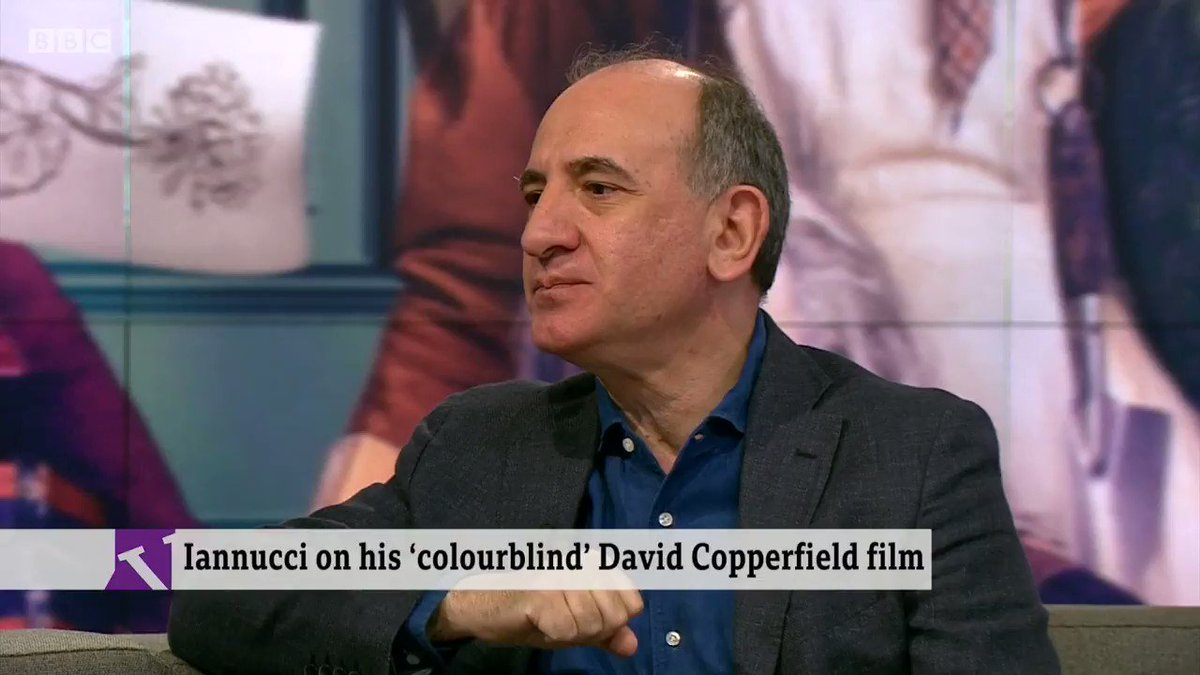 """We lost. Now rather than sitting at the sidelines hoping this venture fails, we've got to be positive ""Writer and director @Aiannucci says he has ""absolutely"" accepted Brexithttp://bbc.in/2RHUAdI  #VictoriaLIVE"