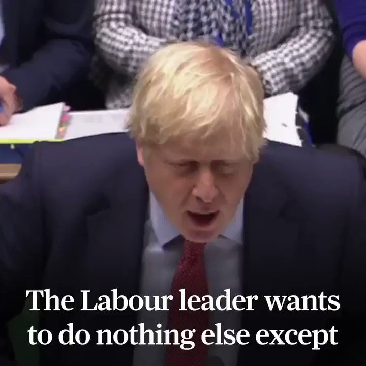 """🗣@BorisJohnson at #PMQs: """"He should pay tribute to all the people who by their hard work found fantastic jobs over the last year.""""🇬🇧 Record high employment.⬇️ Unemployment at its lowest since 1974.👍 Delivering on the people's priorities."""