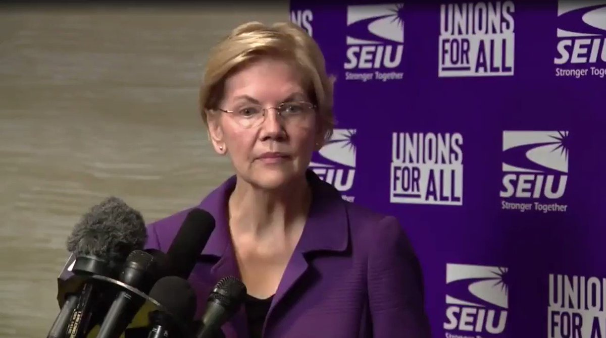 Impartial Juror Sen. Warren tells reporter in OCTOBER that she would convict President Trump: Have you seen enough evidence so far to impeach - have you seen enough evidence to convict, yourself? Sen. Warren: Yes.