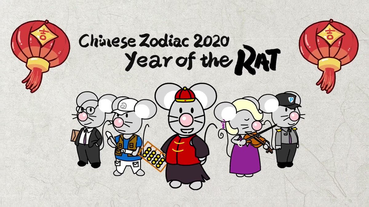 Lunar New Year is almost here! 🧧🐭 Find out what the Year of the Rat has in store for you: youtu.be/nh-xLlSDvUM