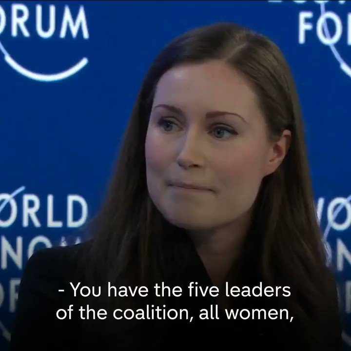"""It works like in any government… we don't meet in a female locker room and have locker-room talk."" Finnish PM Sanna Marin, who runs a coalition government alongside four other female leaders, says she hopes an administration like hers will be ""seen as normal"" in the future."