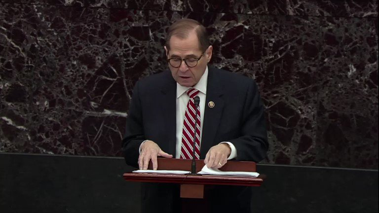 Image for the Tweet beginning: Rep. Jerrold Nadler said that