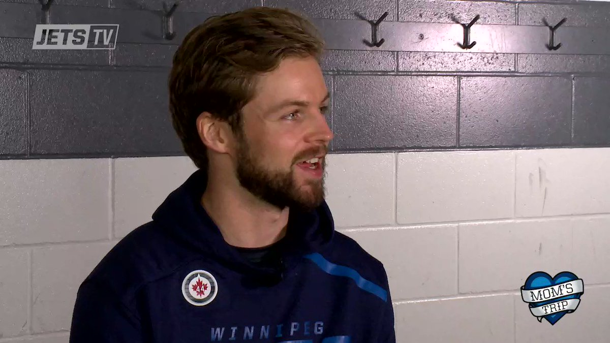 Watch as #NHLJets players and their moms recall experiences they had growing up as hockey families!