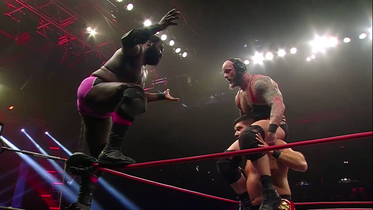 .@Willie_Mack came incredibly close to defeating @Walking_Weapon and @OfficialEGO by himself at #HardToKill.   Order the replay HERE:
