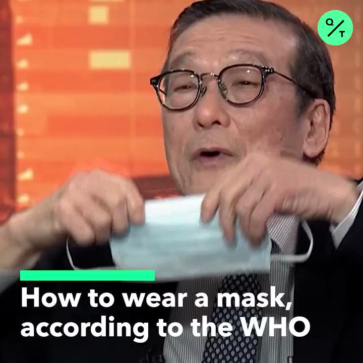 VERY IMPORTANT PSA: I've seen plenty of people wearing it wrong, so here's how to wear it right: