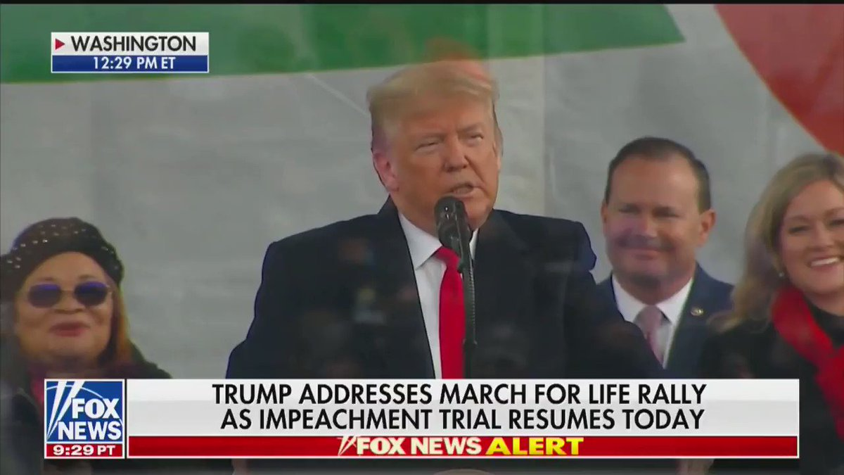 President @realDonaldTrump: Young people are the heart of the #MarchForLife