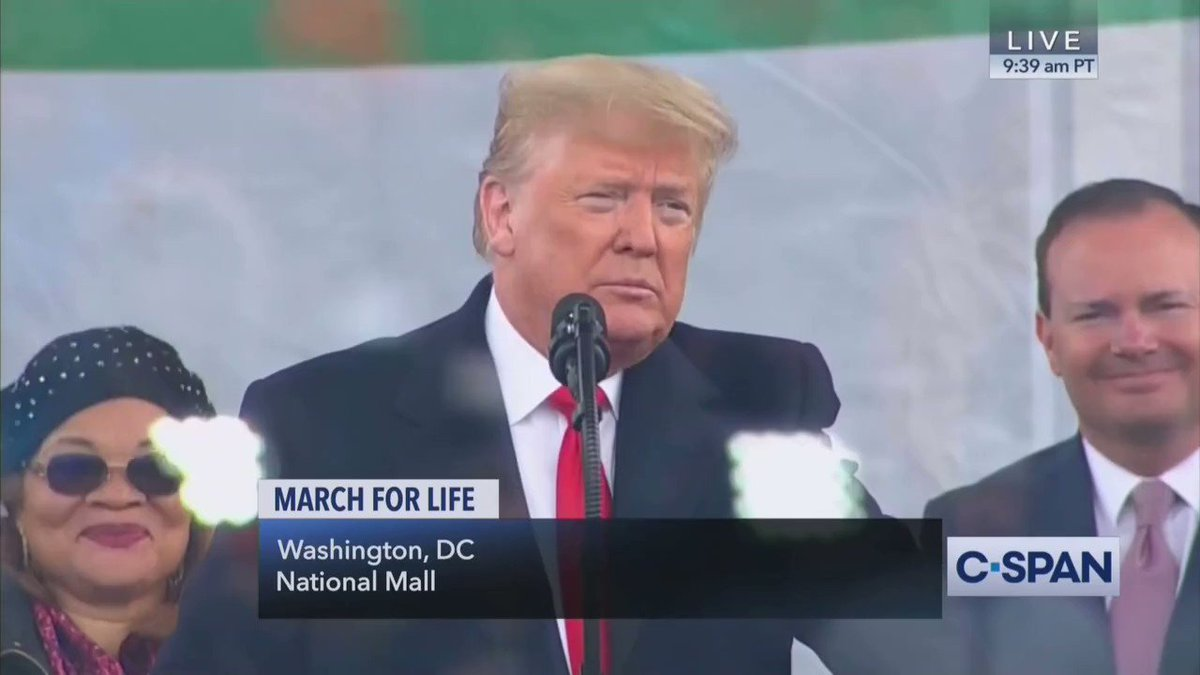 President @realDonaldTrump: We cannot know what our citizens yet unborn will achieve, the dreams they will imagine, the masterpieces they will create   #MarchForLife