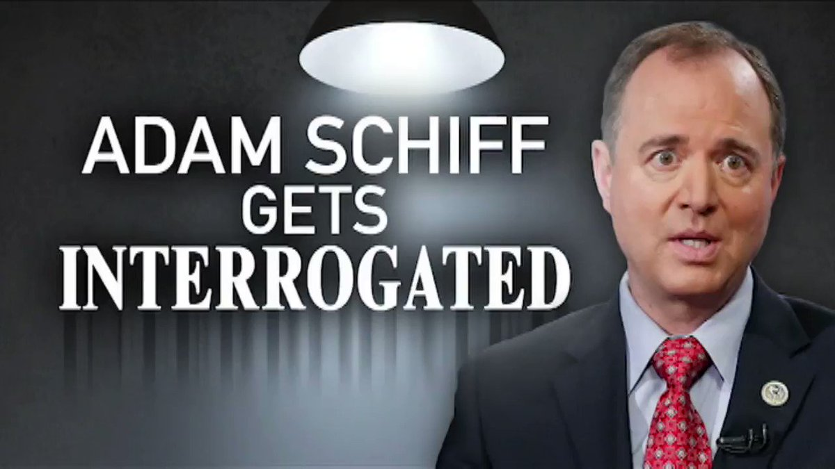 Adam Schiff gets interrogated. #Gutfeld