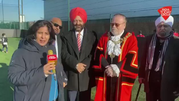 """They want to divide so that they can exist,"" says MP for Southall and Ealing, Virendra Sharma in reference to fringe Khalistan group supporting the 26th January protest outside HCI, London. #ReporterDiary (@loveenatandon)More videos: http://bit.ly/IndiaTodaySocial …"