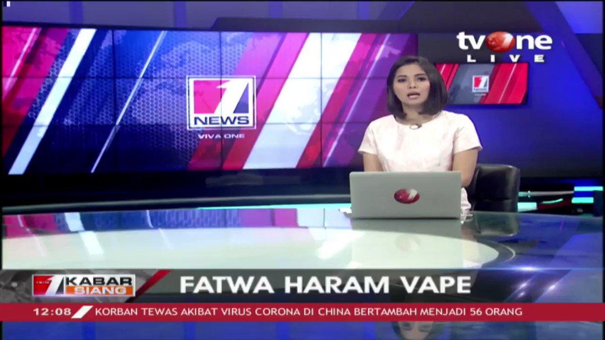 Pengurus Besar Nahdlatul Ulama menyatakan masih menunggu hasil putusan ulama mengenai haram tidaknya vape. Dapatkan berita lainnya di tvOne connect. #tvOneNews #KabarSiangtvOne #vape #PBNU #Muhammadiyah
