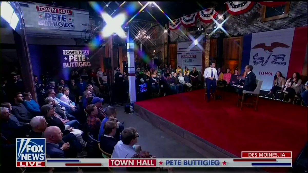 We don't have to choose between endless war and completely disappearing from the world stage. #PeteOnFox