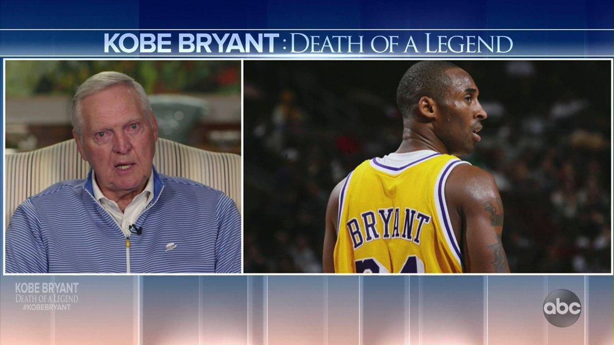 Jerry West in Tears Over Kobe