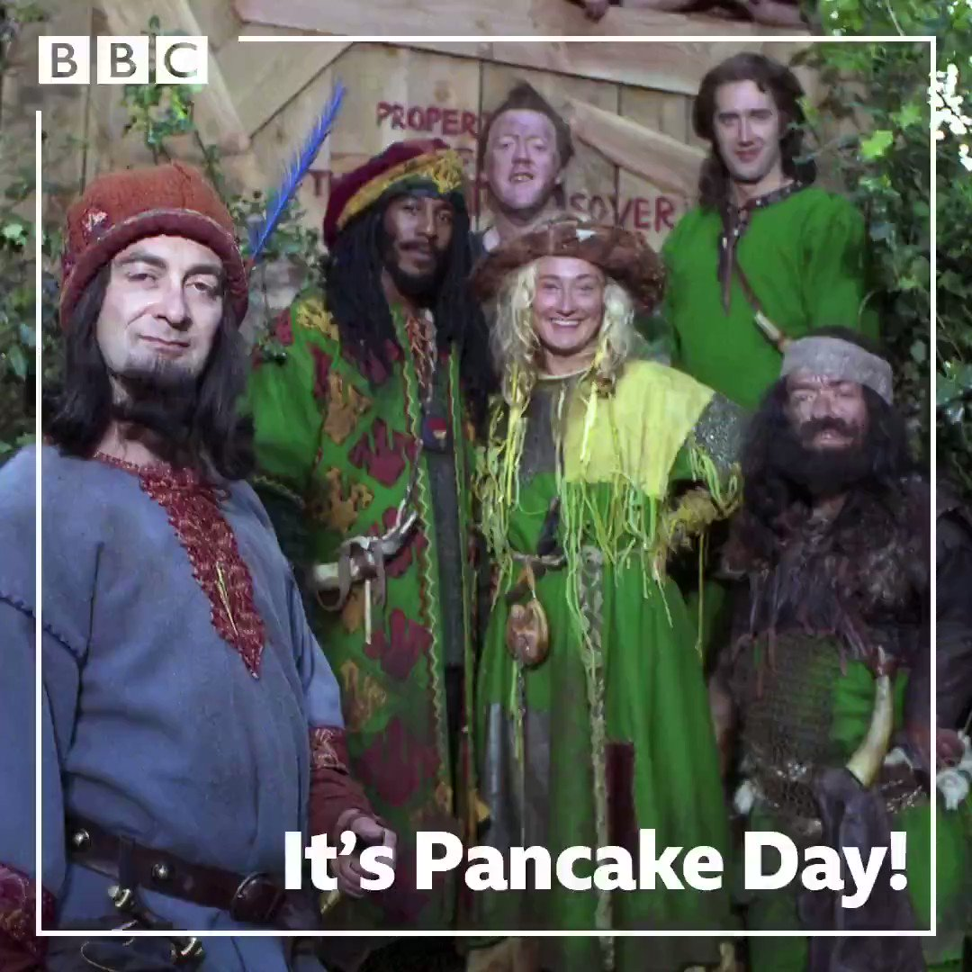 Its National Maid Marian Pancake Song Day! 🥞 🙌 🥞 Have a flippin great time 😜 🥞🥞🥞🥞🥞🥞🥞🥞 #ShroveTuesday @Tony_Robinson @DannyJohnJules