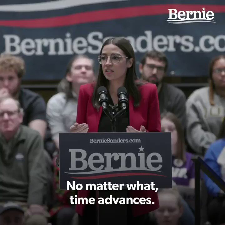 """""""We should not be scared of what will happen if we try. We should be scared of what will happen if we don't."""" –@AOC"""