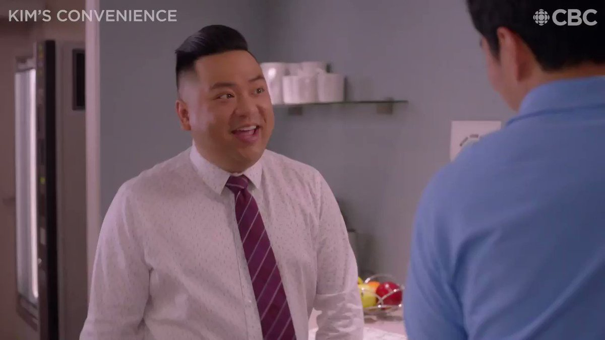 Bullet… dodged? Catch an all-new #KimsConvenience tonight at 8PM (8:30 NT)!