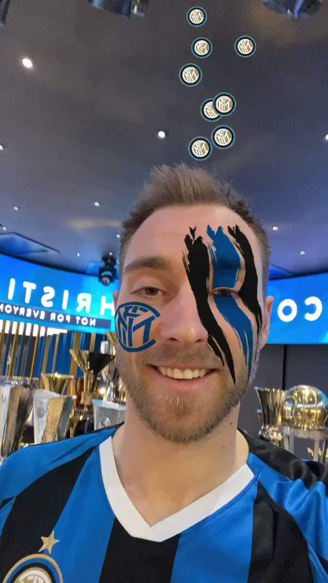 👂 | LISTEN UP, #INTERFANS!  @ChrisEriksen8 has something to say 😜⚫️🔵  #WelcomeChristian #NotForEveryone