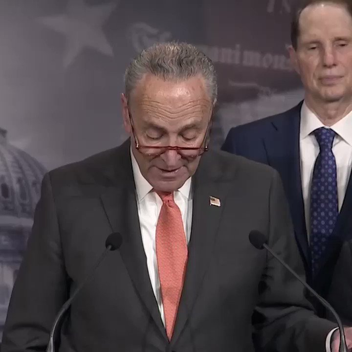 "Sen. Schumer: ""I understand why Leader McConnell and Pres. Trump wanted a very short, incredibly rushed trial. Because the longer it goes on, the more likely that new evidence and more new evidence will come out that further implicates the president."" http://abcn.ws/37AZyQi"
