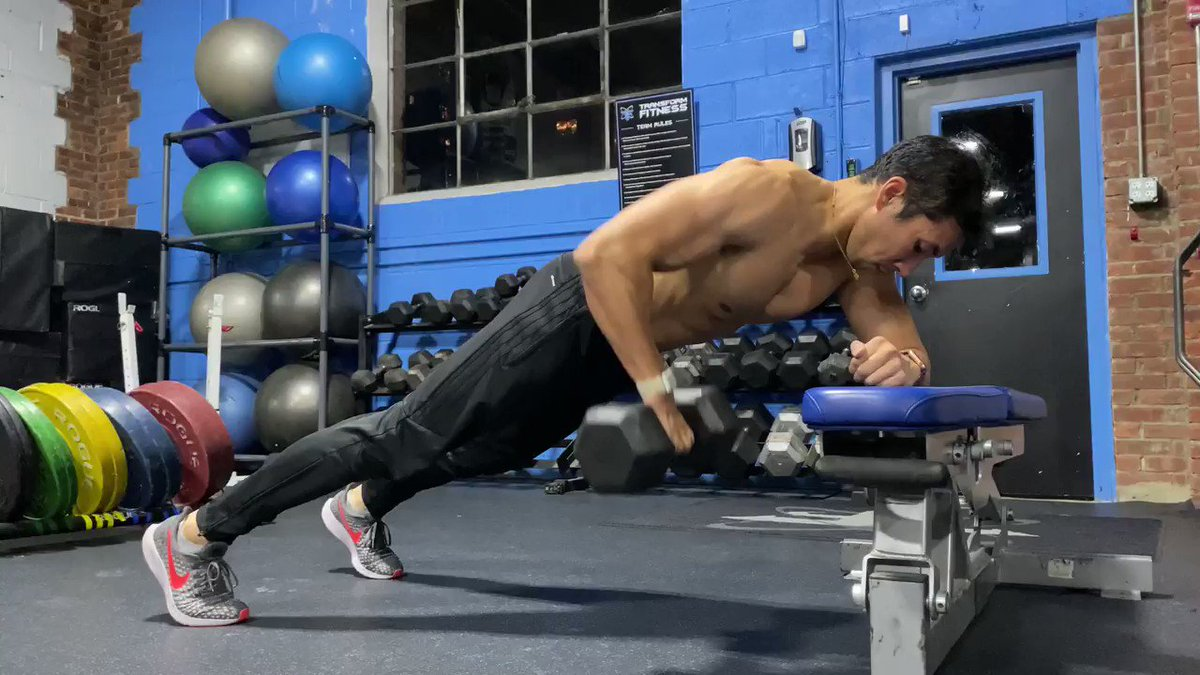 The plank is a standard core training exercise, one that fires up abs and glutes and lower back.