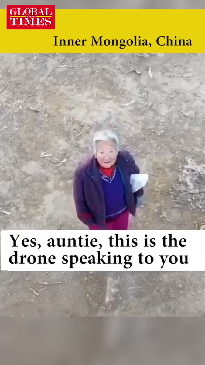 Video: Drones in China voice demands to people to put on their masks or go home #Brexit #Trump #Coronavirus