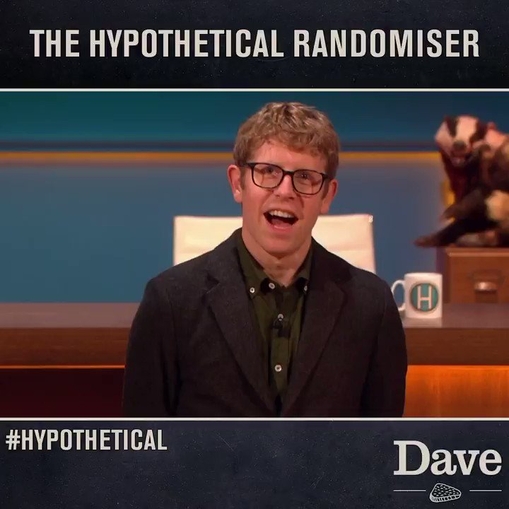 There's a brand new feature in tonight's #Hypothetical, meet the RANDOMISER.