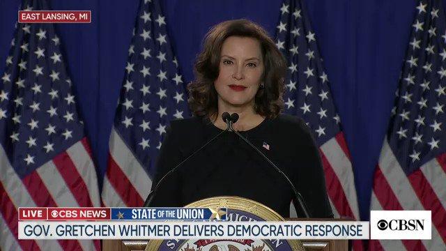 @CBSNews's photo on Gretchen Whitmer