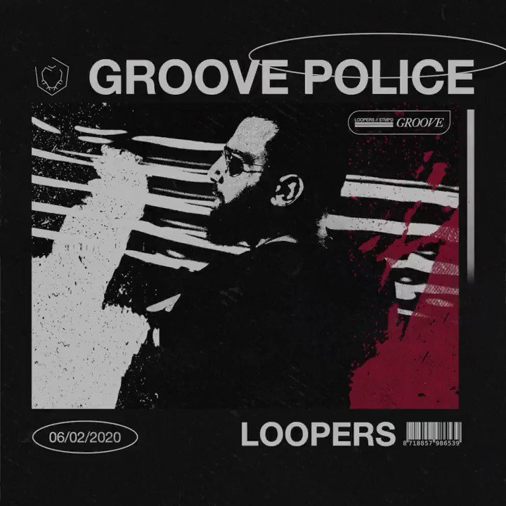 .@loopersmusic kicks off his year with Groove Police 💥💥 Out Now! stmpd.co/LjjxiTW