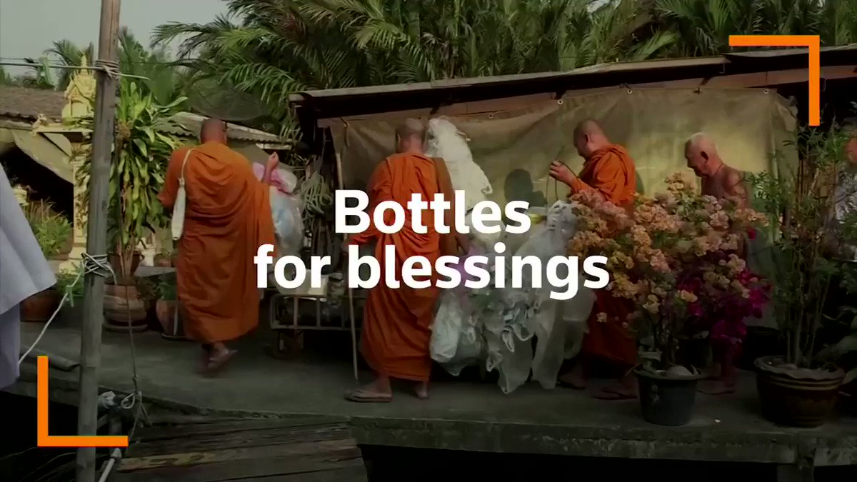 Bottles for blessings: The Thai Buddhist temple that recycles plastics into robes https://reut.rs/2S3HRUf