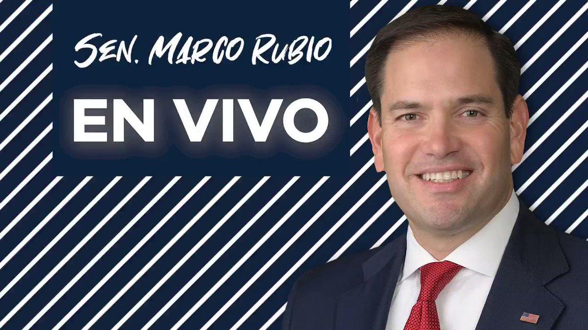🚨📻En Minutos🚨📻: El senador Rubio hablará con @CarinesMoncada y @agustinacostami en @ActualidadRadio sobre el paquete de estímulo por el #COVID_19 propuesto por los democratas y otros temas de actualidad.   Escuche en vivo aquí: