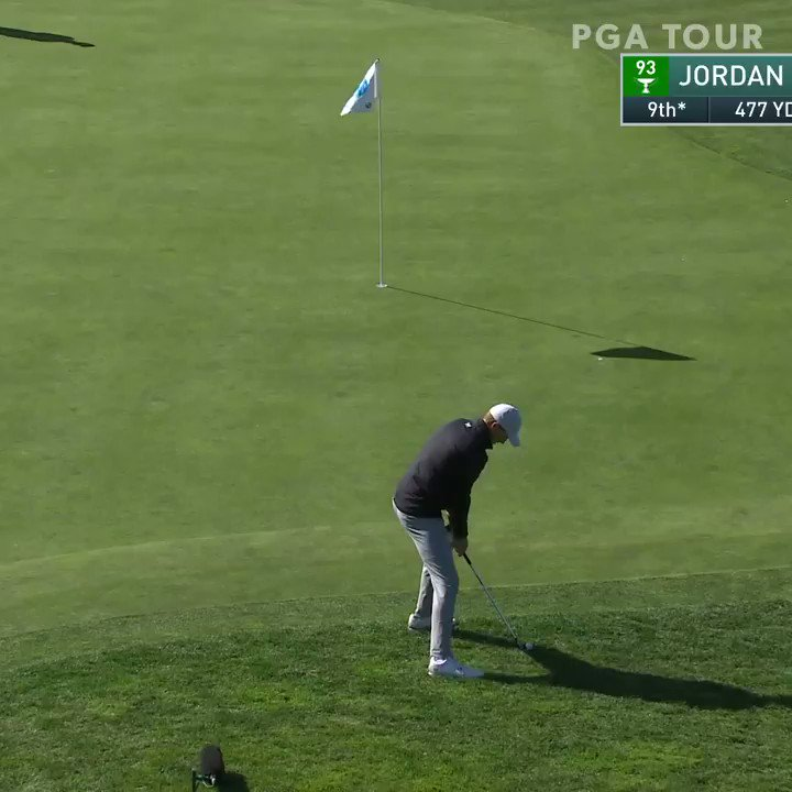 The lowest round today? @JordanSpieth. Hes moved from T55 to inside the top 10. #QuickHits