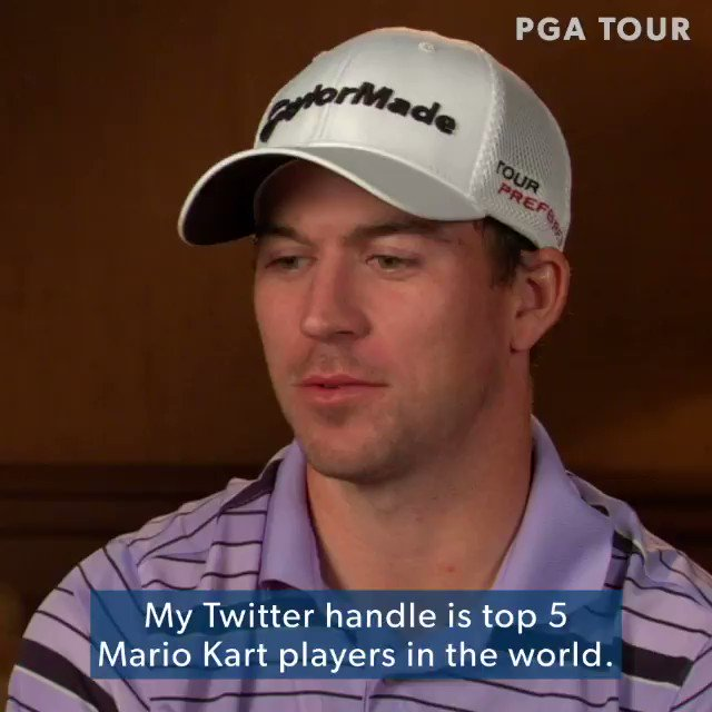 Its one of the best games ever. @ATTProAm winner @NTaylorGolf59 is really good at golf ... and Mario Kart. 🎮