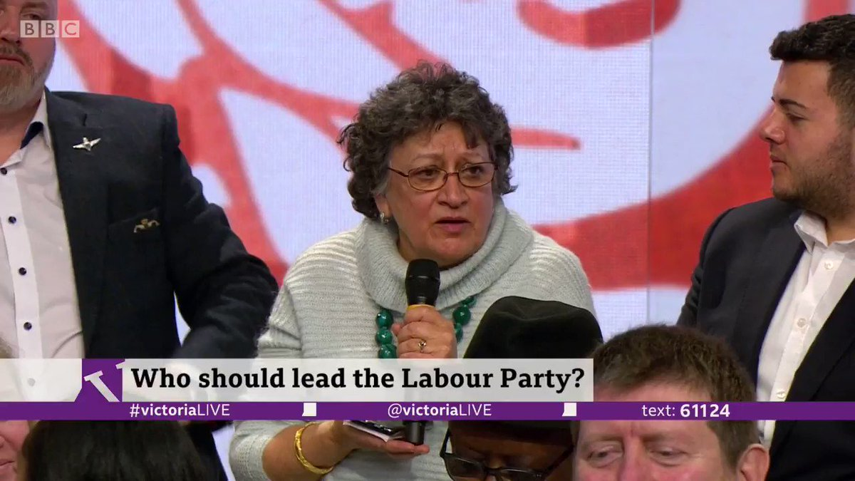 """""""The Labour Party in Scotland is now an irrelevance"""" Selma, a grassroots Labour activist, condemns all four Labour leadership candidates for not mentioning Scotland once in over an hour of debate bbc.in/2OQOTK3 #VictoriaLIVE"""