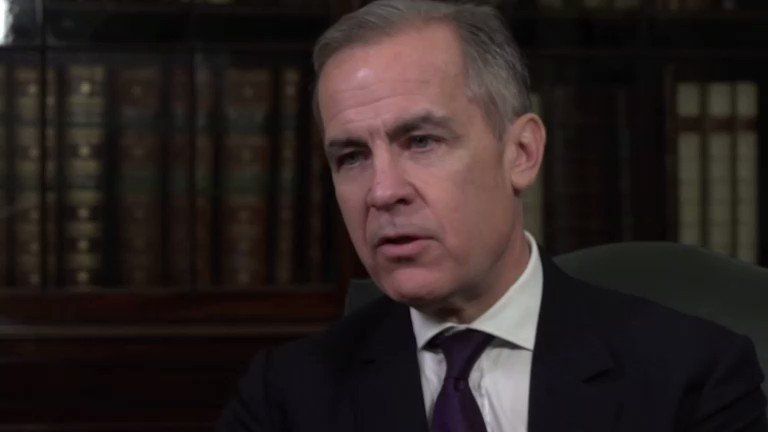 Bank of England boss Mark Carney says there could be a silver lining in UK Prime Minister Boris Johnson's plans to boost growth https://reut.rs/39D3hO5