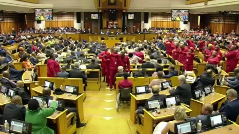 Image for the Tweet beginning: South Africa's Economic Freedom Fighters
