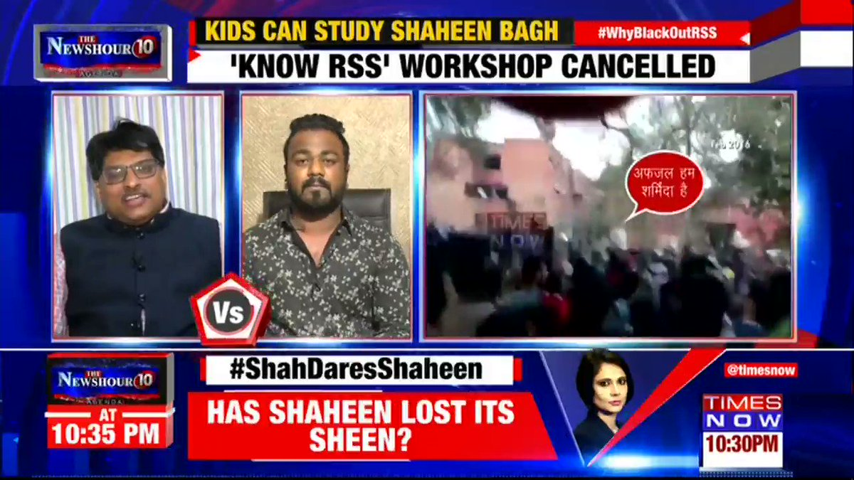 What is right & wrong is determined by facts & logic: @RagiSangit, Political Analyst tells Padmaja Joshi on @thenewshour AGENDA. | #WhyBlackOutRSS