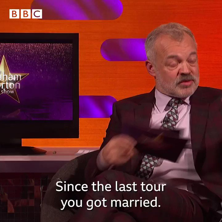Turns out @Adele is the greatest wedding planner of all time… 🎩😂   #TheGNShow   Tonight, 10.35pm   BBC One and BBC iPlayer   @AlanCarr