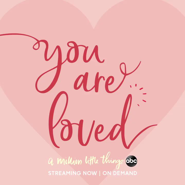 Replying to @AMillionABC: Happy #ValentinesDay from #AMillionLittleThings! 🥰