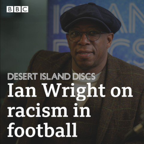 """""""You're just hoping more and more people out it when it happens.""""@ianwright0 on racism in football#desertislanddiscs 