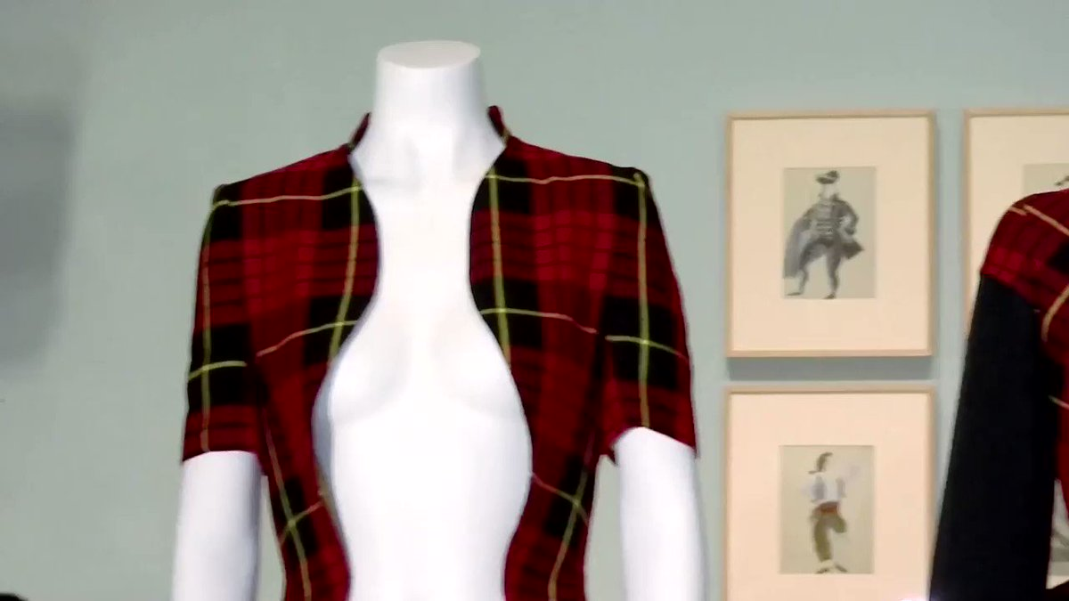 Image for the Tweet beginning: One-of-a-kind Alexander McQueen items are