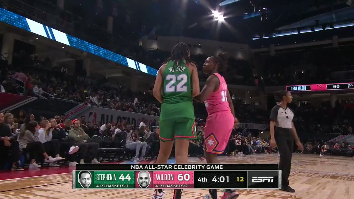 This back and forth between @Chiney321 and @_ajawilson22 is hilarious 😂