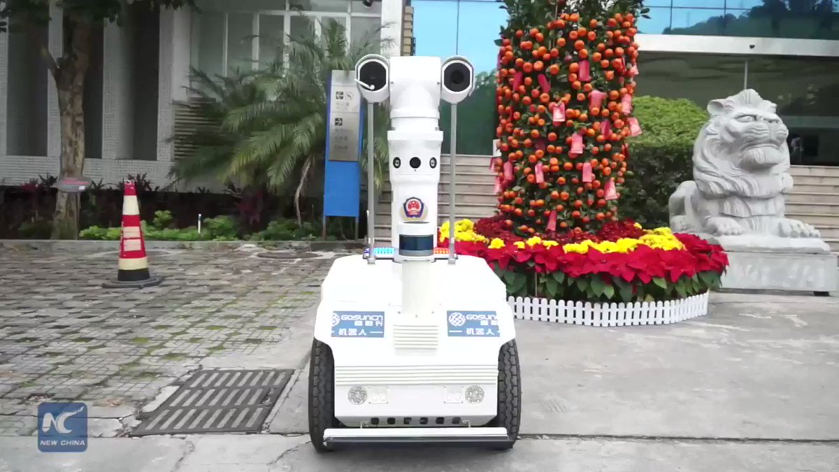 Someone with a temperature of above 37.3 degrees Celsius could be ill. But taking temperatures, especially in crowded locations, can be a lengthy task. Check out this 5G robot that can now be found at many train stations and airports across China