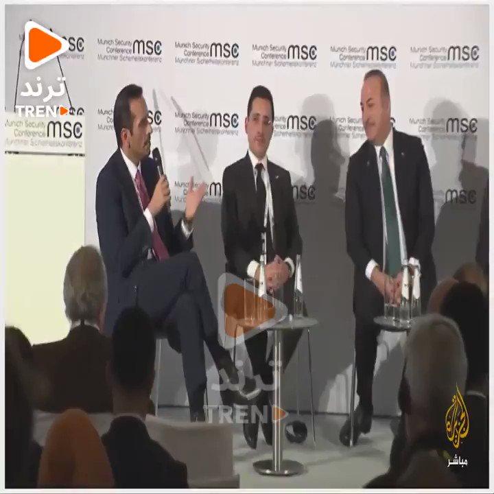"""وزير الخارجية القطري: جهود حل """"#الازمة_الخليجية"""" فشلت.. وتم تعليقها في يناير الماضي #مجلس_التعاون_الخليجي@GCCSG@MBA_AlThani_"""