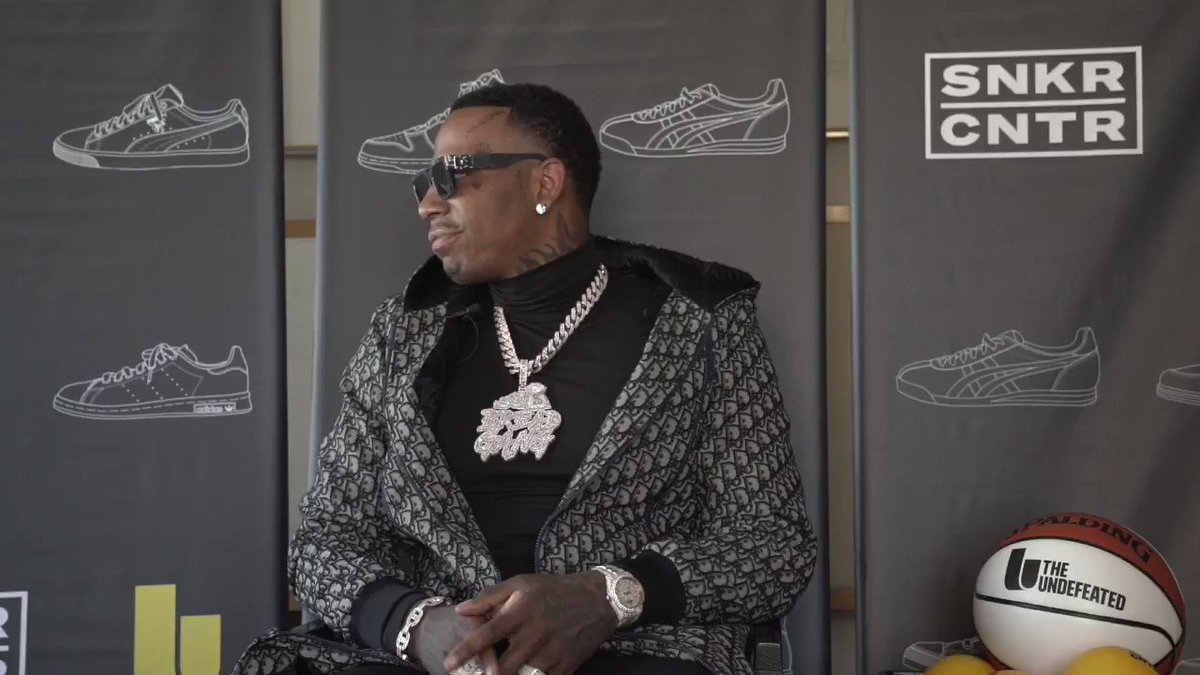 .@MoneyBaggYo brought some Memphis 💧 through on his visit to our lounge.